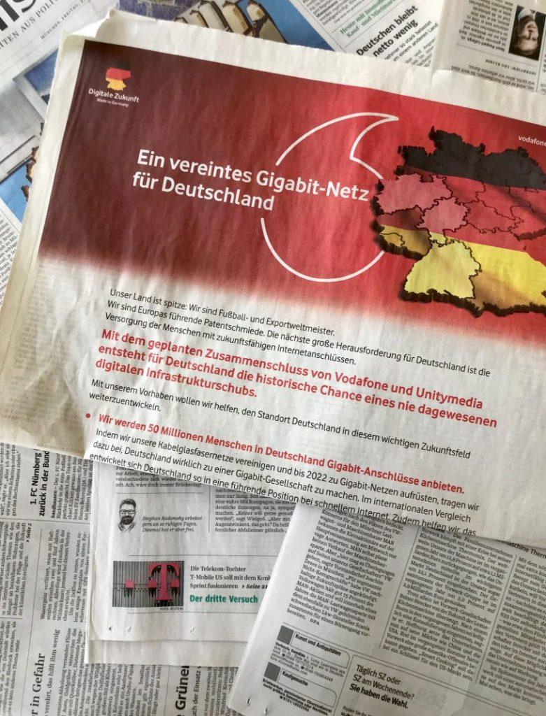 Vodafone und Unitymedia sind im Hochzeitsfieber. Passend zur Royal Wedding zu Pfingsten.