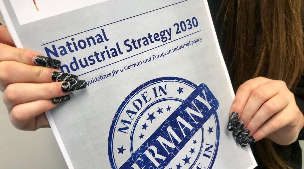 When Peter Altmaier presented his National Industrial Strategy 2030 there was uproar. Philipp Steinberg sets out his thoughts in D'Kart today.