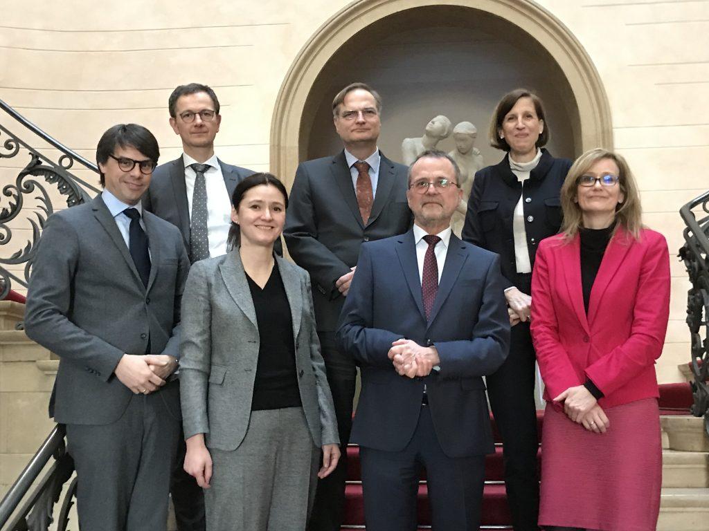 The judges of the Competition Senate (Kartellsenat) of Bundesgerichtshoffff